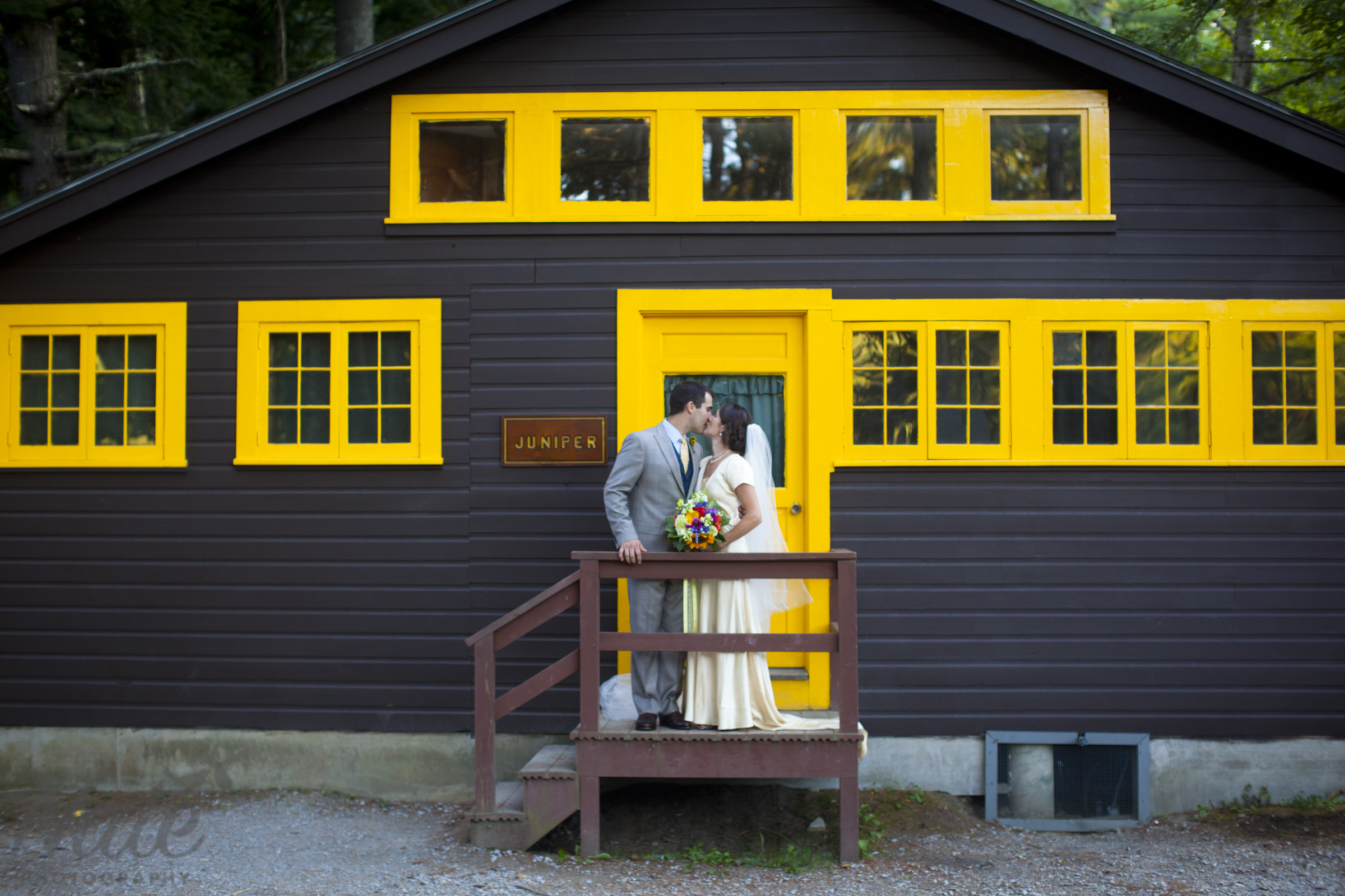 Cleo and Michael are married at summer camp in New Hampshire ...
