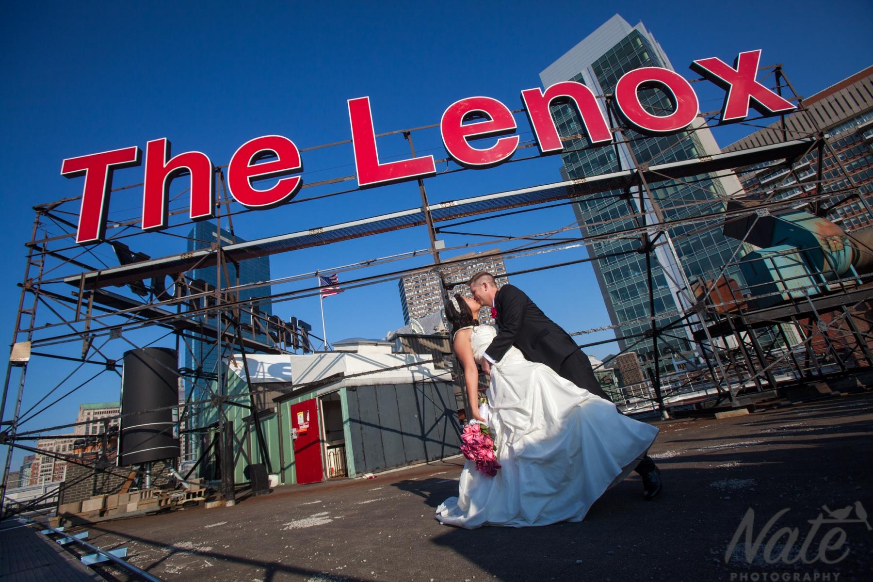 Lenox hotel wedding Boston, Nate Photography