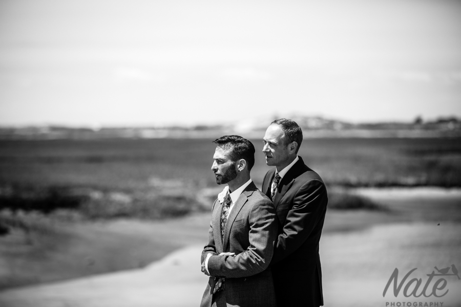 Anthony and Kevin are married in Provincetown, Massachusetts. Photos by Nate Photography