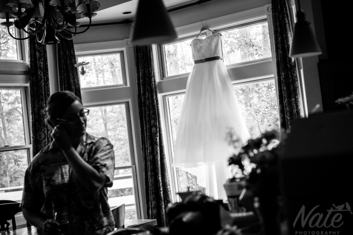 Giovanna and Tom are married at the Williams River House in Chester, Vermont. Photos by Nate Photography