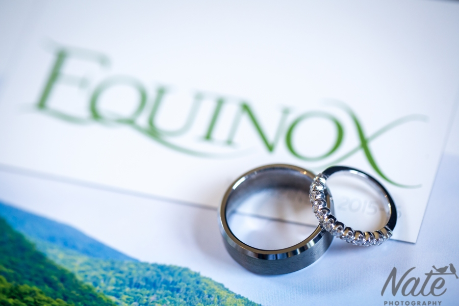 Jamie and Rachel are married at Equinox, Veromnt. by Nate Photography