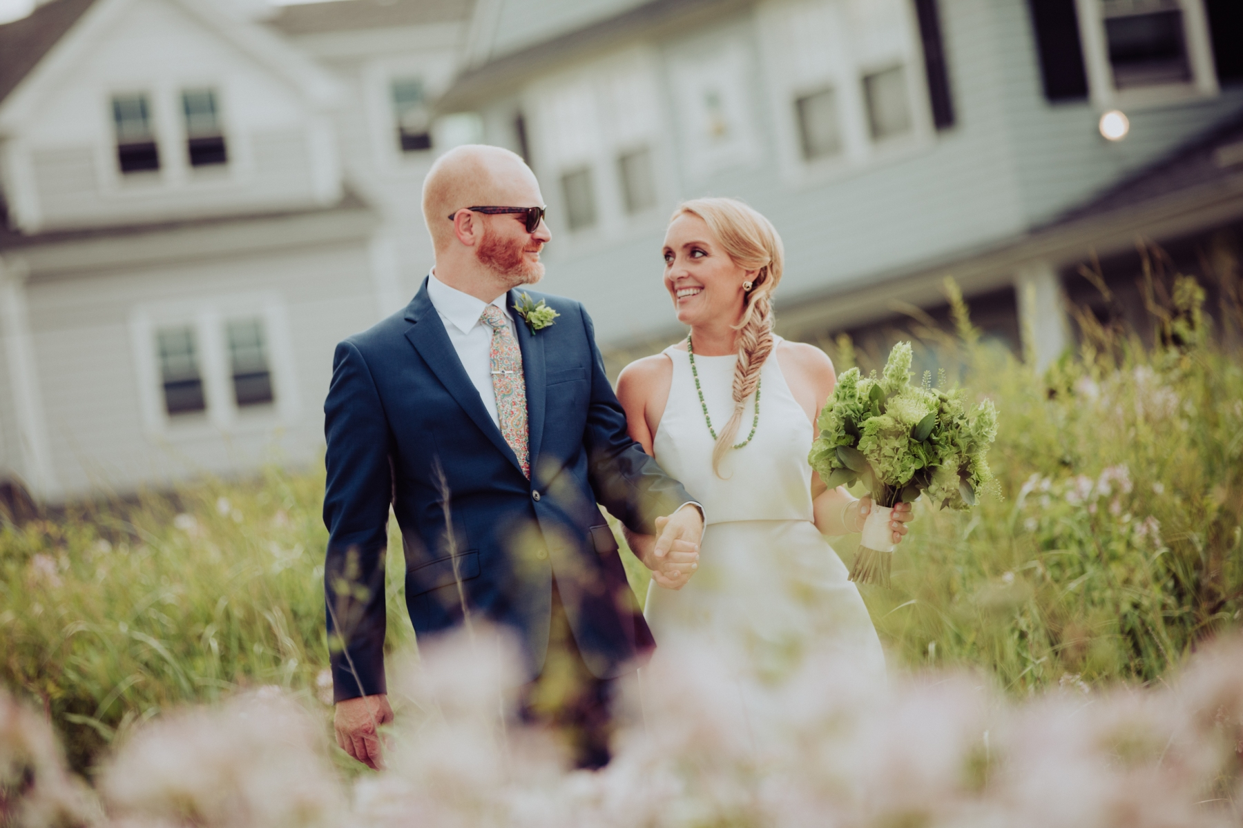 Hull Massachusetts, Nantasket Beach wedding, Fort Revere, Nate Photography