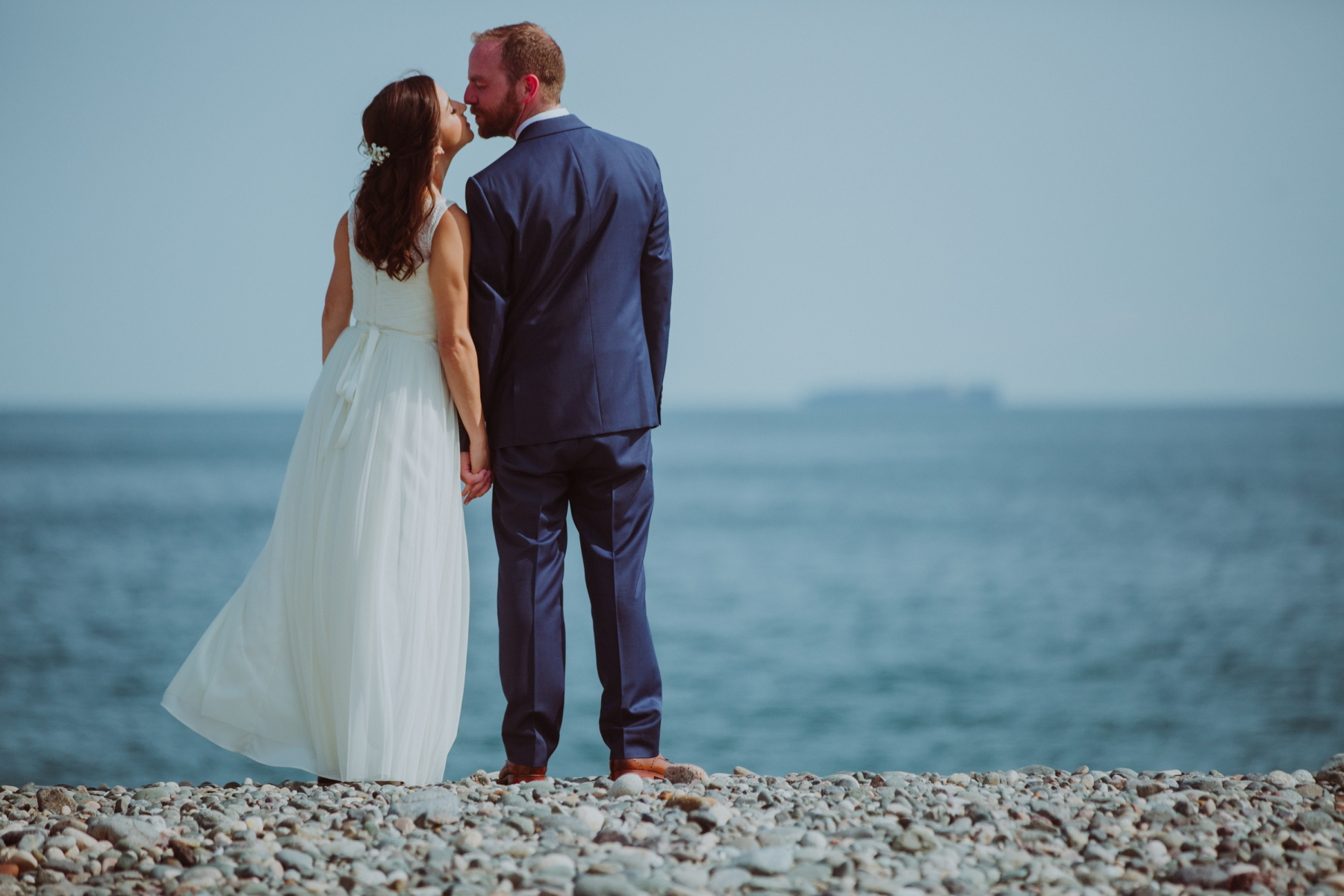Nate Photography, Beach Wedding, Marblehead, Massachusetts, Second line